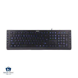مشخصات ، قیمت و خرید کیبورد با سیم A4TECH KD-600