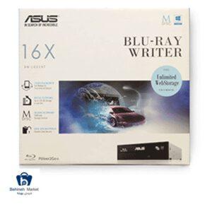 مشخصات ، قیمت و خرید درایو بلوری اینترنال ایسوس با پک BW-16D1HT
