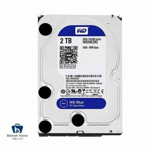 مشخصات ، قیمت و خرید هارد اینترنال وسترن دیجیتال 2TB Blue