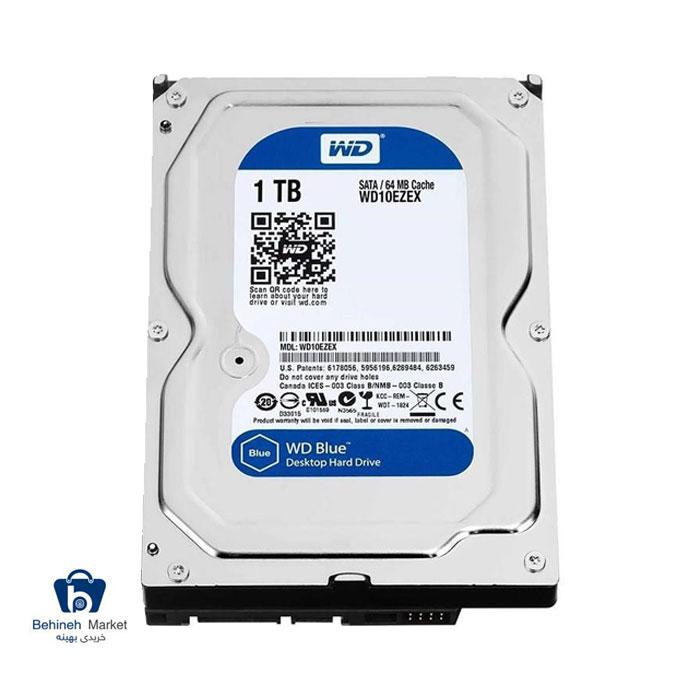 مشخصات،قیمت و خرید هارد اینترنال وسترن دیجیتال 1TB Blue