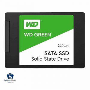 مشخصات ، قیمت و خرید هارد SSD وسترن دیجیتال 240GB GREEN