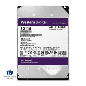 مشخصات ، قیمت و خرید هارد اینترنال وسترن دیجیتال 12TB Purple