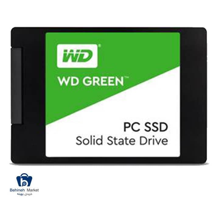 مشخصات ، قیمت و خرید هارد SSD وسترن دیجیتال 120GB GREEN