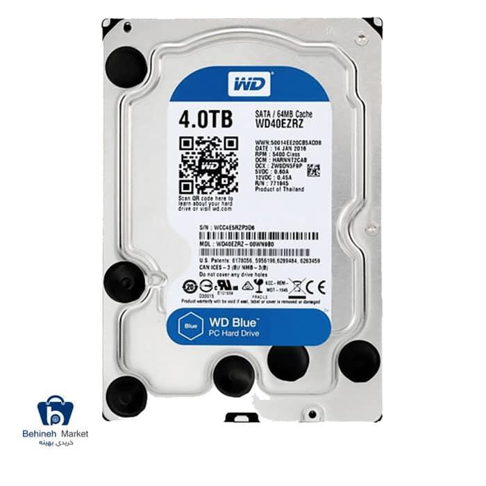 مشخصات،قیمت و خرید هارد اینترنال وسترن دیجیتال 4TB Blue