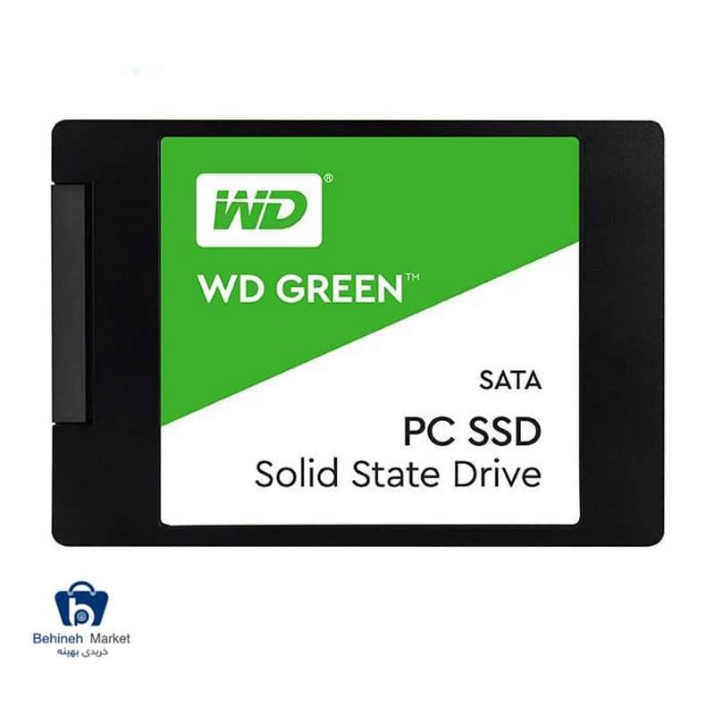 مشخصات،قیمت و خرید هارد SSD وسترن دیجیتال مدل GREEN ظرفیت 480 گیگابایت