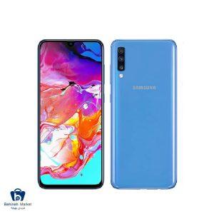 مشخصات ، قیمت و خرید سامسونگ Galaxy SM-A70 128GB آبی