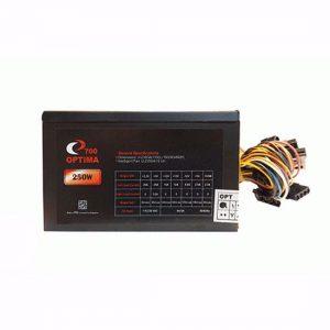 منبع تغذیه کامپیوتر Optima Real 250W OPT-700