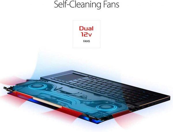 لپ تاپ 17 اینچی ایسوس مدل ROG Zephyrus GX701GXR-PLZ