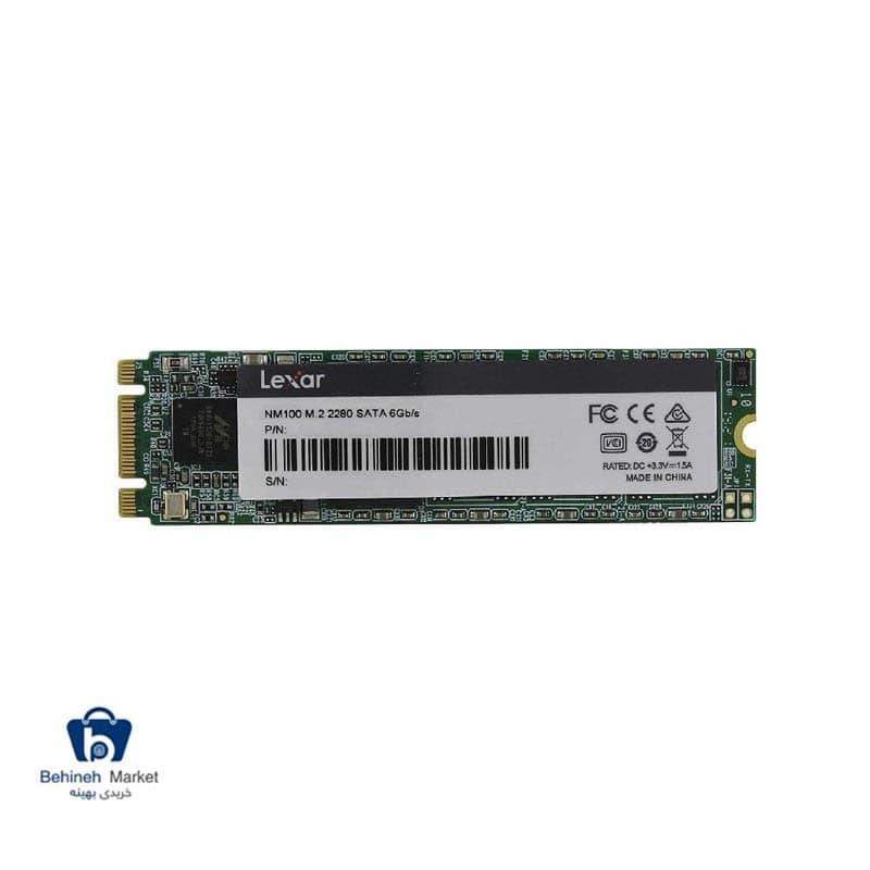 مشخصات ، قیمت و خرید اس اس دی اینترنال لکسار مدل NM 100 M.2 2280 ظرفیت 128 گیگابایت
