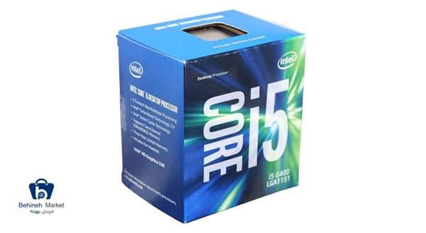 قیمت پردازنده مرکزی اینتل Skylake مدل Core i5-6400