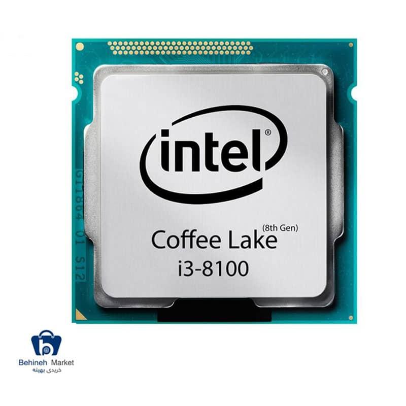 مشخصات ، قیمت و خرید پردازنده مرکزی اینتل Coffee Lake مدل Core i3-8100