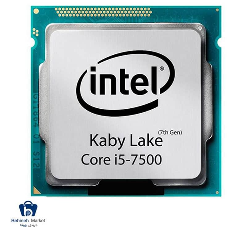 مشخصات ، قیمت و خرید پردازنده مرکزی اینتل Kaby Lake مدل Core i5-7500