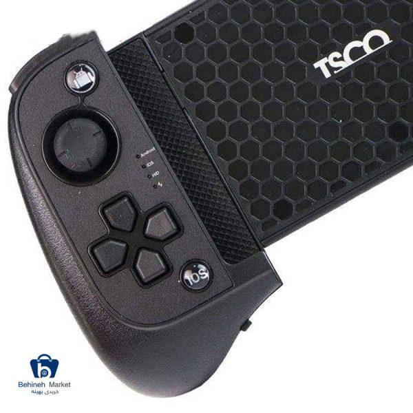 مشخصات، قیمت و خرید دسته بازی تسکو مدل TG155W مناسب برای گوشی موبایل