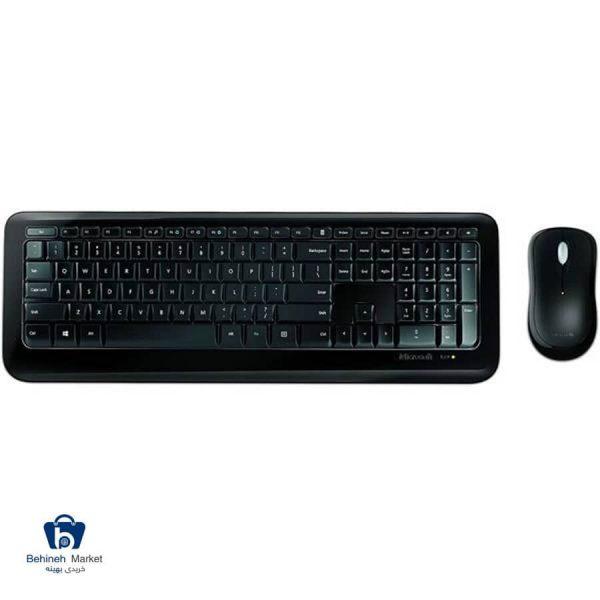 کیبورد و ماوس بیسیم مایکروسافت Desktop 850
