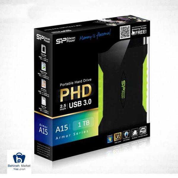 مشخصات، قیمت و خرید هارددیسک اکسترنال Silicon Power آرمور A15 ظرفیت 2 ترابایت