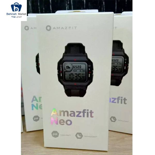 مشخصات، قیمت و خرید ساعت هوشمند امیزفیت مدل Neo