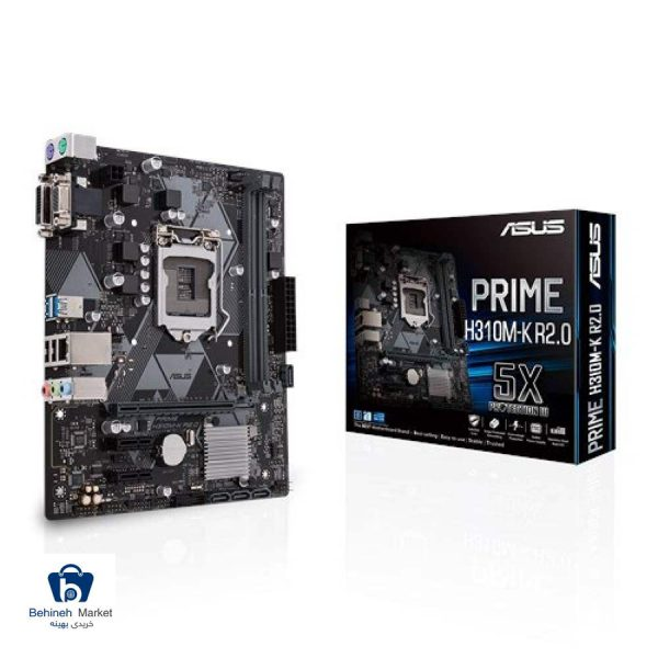 مشخصات، قیمت و خرید مادربرد ایسوس مدل PRIME H310M-K R2.0