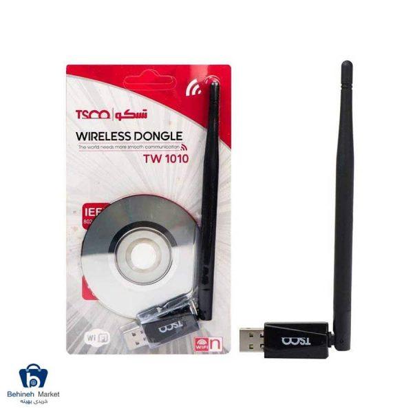 مشخصات، قیمت و خرید کارت شبکه USB تسکو مدل TW1010