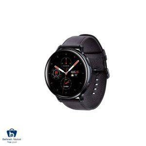 مشخصات، قیمت و خرید ساعت هوشمند سامسونگ مدل Galaxy Watch Active2 44mm Leatherband Smart