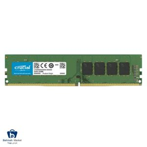 مشخصات، قیمت و خرید رم دسکتاپ DDR4 تک کاناله 2666 مگاهرتز کروشیال مدل CL19 ظرفیت 4 گیگابایت