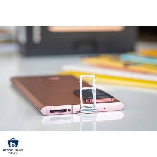 مشخصات، قیمت و خرید گوشی موبایل سامسونگ مدل Galaxy Note20 Ultra دو سیم کارت ظرفیت 256GB و رم 8GB