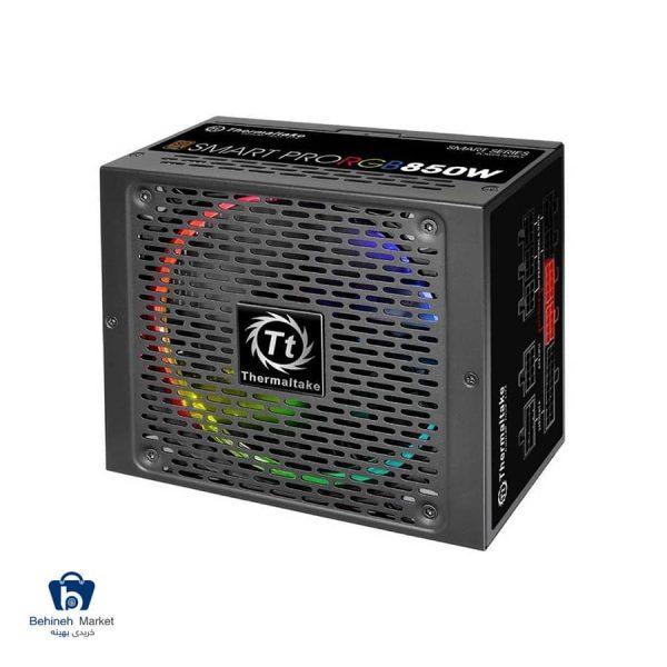 مشخصات، قیمت و خرید منبع تغذیه کامپیوتر ترمالتیک مدل Smart Pro RGB 850W Bronze