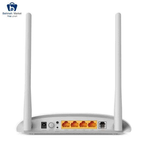 مشخصات، قیمت و خرید مودم روتر بیسیم ADSL2 Plus تی پی-لینک مدل TD-W8961N