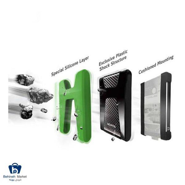 مشخصات، قیمت و خرید هارددیسک اکسترنال ای دیتا مدل HD650X ظرفیت 1 ترابایت