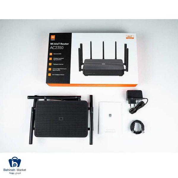 مشخصات، قیمت و خرید روتر شیائومی مدل Mi AIoT Router AC2350