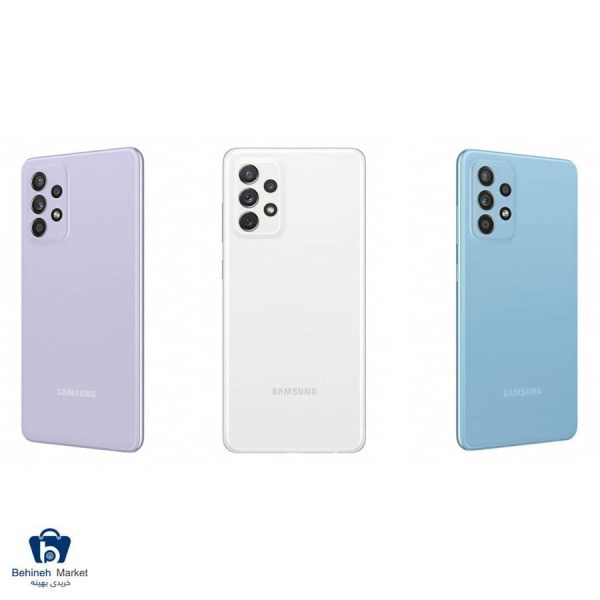 مشخصات، قیمت و خرید گوشی موبایل سامسونگ مدل A72 دو سیمکارت ظرفیت 256 گیگابایت و رم 8 گیگابایت