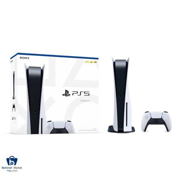 مشخصات، قیمت و خرید کنسول بازی سونی مدل Playstation 5 ظرفیت 825 گیگابایت