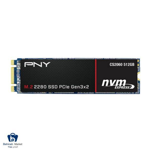 مشخصات، قیمت و خرید اس اس دی اینترنال پی ان وای مدل CS2060 M.2 2280 512GB