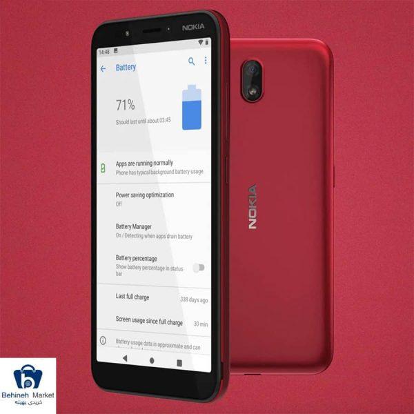 مشخصات، قیمت و خرید گوشی موبایل نوکیا مدل C1 TA-1165 Dual SIM 16GB