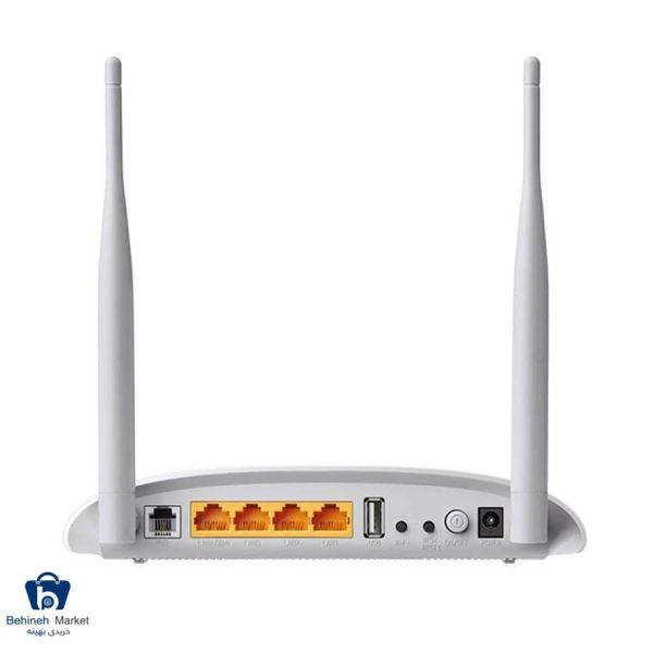 مشخصات، قیمت و خرید مودم روتر VDSL/ADSL بیسیم 300Mbps تی پی-لینک مدل TD-W9970