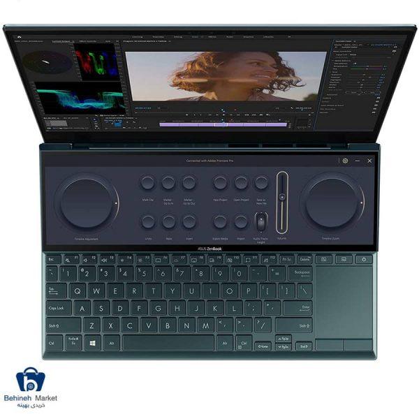 مشخصات، قیمت و خرید لپتاپ 14 اینچی ایسوس مدل ZenBook Duo UX482EG-A